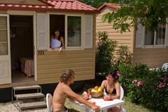 Our bungalows offer an enjoyable atmosphere.