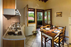 o	Cozy bungalows for four or six persons without giving up comfort are an ideal place for a holiday at the camping site.
